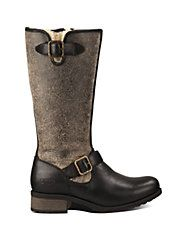 Warm Boots for Winter!  Ugg Chancery Sheepskin and Leather Boots
