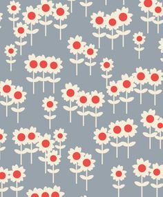 ORLA KIELY - DAISY FIELD http://www.designtickle.com/cdnmedia/2013/09/cute-home-house-illustrations/17-blue-house-illustration-vector.png