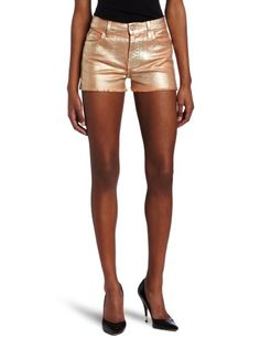 7 For All Mankind Womens Foil Cut Off Shorts in Peach Peach 28 -- You can get more details by clicking on the image.