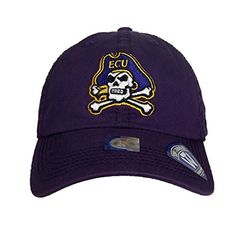 East Carolina Pirates Adjustable Hats