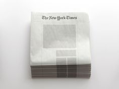 Empty Newspapers by Sideline Collective – Fubiz Media