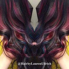 Finally, brunettes can get great hair colors too! Enjoy the gallery and the video tutorials for this style!