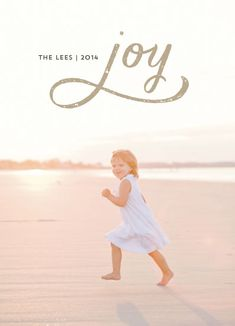 Minted Holiday Photo Card Challenge: Special Prize Winners | Beach Joy by Erika Firm
