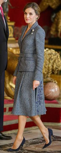 12 Oct 2017 - Queen letizia attends National Day celebrations
