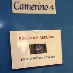 """#RobertaGiarrusso Roberta Giarrusso: Stasera alle 21,00 su Rai2 condotto da Amadeus inizia il programma """"Stasera tutto è possibile"""" non perdetelo ci sarà da ridere con tanti ospiti e ME!  a più tardi"""