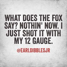 What does the Fox say? Ok..thought this was hilarious..asked my 12 yo son and got a you haven't heard that song..realized how old I am and how much I hate STUPID fads..like his version much, much better! Yee-Yee!!