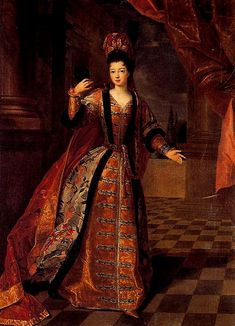 Marie Louise Elisabeth d'Orleans,Duchess of Berry in 1715