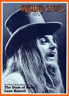 Rolling Stone, Dec. 10, 1970 — Leon Russell