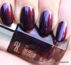 P2 Mirror Mirror [LE] Nailpolish in 010 sensual purple