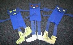 Pete the Cat puppet