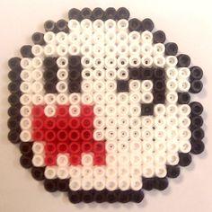 Super Mario Yoshi + Boo (Ghost) + Star Hama Beads (Pyssla) | EcoCreo