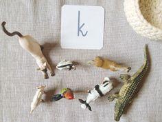 Moje Montessori Letter basket