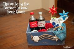 It's summer time! Get some great tips on being the perfect picnic guest + a yummy recipe featuring Coca-Cola from @gianteagle! #ShareIceColdFun #ad http://parentpalace.com/2017/06/shareacoke/