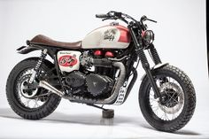 Triumph Bonneville T100 Board Track Custom by Galz Motorcycle