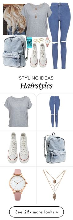"""Untitled #812"" by maria-canas on Polyvore featuring Topshop, Converse, H&M, Oasis and Rebecca Minkoff"