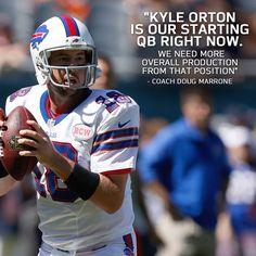 498375f6437 BREAKING  Kyle Orton to replace EJ Manuel at QB. john horne · Buffalo Bills