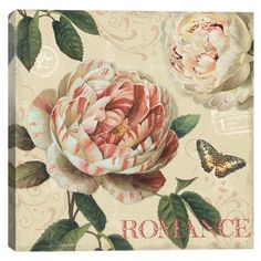 Canvas print with a garden theme by artist Lisa Audit.   Product: Wall artConstruction Material: Cotton canvas and woo...