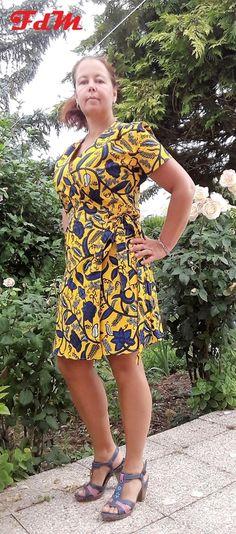 Une robe portefeuille - ou crash test de la robe Aime comme Mots Doux de Aime comme Marie