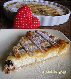 Hungarian Recipes, Winter Food, Cake Cookies, Cheesecake, Dessert Recipes, Food And Drink, Cooking Recipes, Yummy Food, Sweets