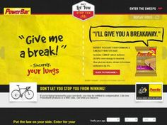 2014 PowerBar Tour de France Instant Win and Sweepstakes