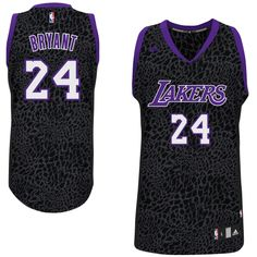 f9eb92af5e02 Kobe Bryant Los Angeles Lakers Crazy Light Leopard Swingman Jersey