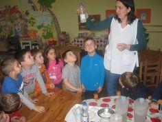 2016. január - Kísérletezés a vízzel - Magyar Szentek Római Katolikus Óvoda és Általános Iskola