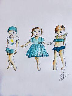 дети ,baby ,fashion illustration baby ,детская мода лето лимонад , lemonade