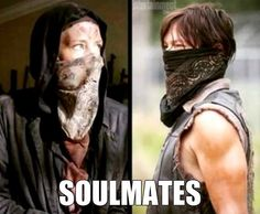 Carol and Daryl - The Walking Dead soulmates