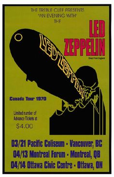 Led Zeppelin - 1971 - Canada.