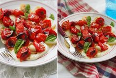 Сегодня приготовил для вас салат от которого я чувствую себя счастливым) Очень вкусно - нежная моцарелла, карамезилированные томаты черри с присущей им…
