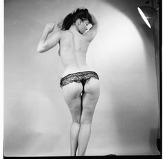 ...Betty Page: the real deal when it comes to having a body with imperfections of a real woman.