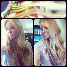 Day 18: something you bought. Hair Extensions!!!!