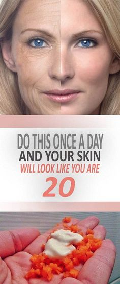 Do This Once A Day And Your Skin Will Look Like You Are 20! – Healthy Me Shape