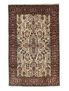 Tapis persans - Sarough Sherkat  Dimensions:312x200cm