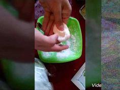 Рецепт эластичного холодного фарфора (полимерной глины) - YouTube