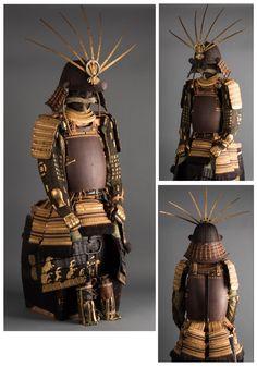 明珍宗次作 鐡地六十二間筋兜 具足鎧兜 … Ronin Samurai, Samurai Helmet, Samurai Weapons, Samurai Armor, Arm Armor, Japanese History, Asian History, Japanese Culture, Japanese Warrior