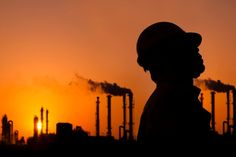 Man Down Duress Alarm offers the best lone worker safety monitoring security system and personal duress alarms in Australia for high risk worker solution. Lone Worker, Oil And Gas News, Oil Refinery, Sunset Silhouette, Man Down, Career, Stock Photos, Image, Night Work