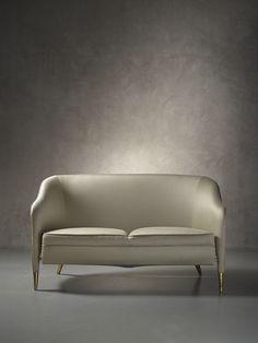 Gio Ponti, rare and important sofa prototype, circa. 1950.