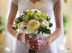 green and grey wedding flowers - Google Search