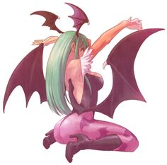 Morrigan Aensland by ~kanahal on deviantART