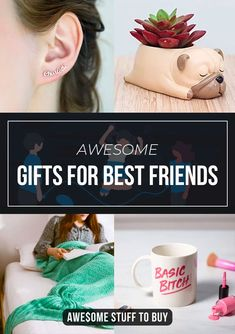 36 cool gifts for your best friends - awesome stuff to buy Gifts For Your Sister, Presents For Best Friends, Bff Gifts, Gifts For Wine Lovers, Geek Gifts, Best Friend Gifts, Your Best Friend, Birthday Gifts For Boyfriend, Boyfriend Gifts