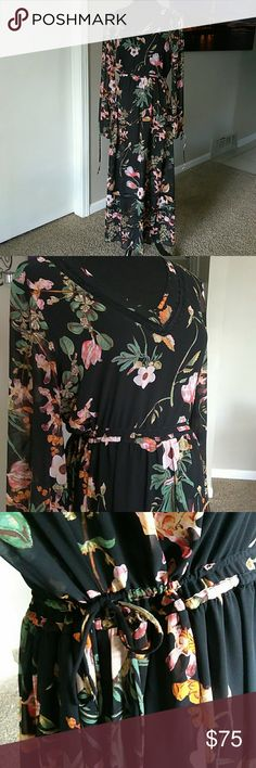 Belle Sky Dress w Slip Excellent Condition.  L:52 Belle Sky Dresses