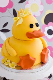 Image result for duck birthday cake