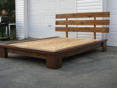 base de lit en bois massif item l 2