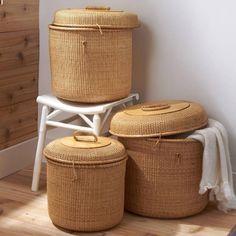 storage & decor, with high capacity! surabaya wicker baskets.