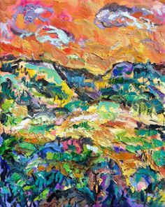 David Sandum.  Untitled oil painting. 41 x 33 cm.  2015