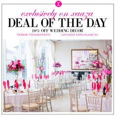 Best wedding deals for a luxurious and affordable wedding 250 off xaaza has the best wedding deals 10 off your wedding decor by stylish events junglespirit Gallery