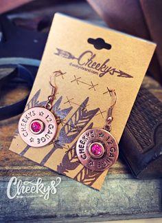 Western Jewelry, Shell Earrings, Pink Stone, Bronze Finish, Gauges, Shells, Social Media, Amp, Free