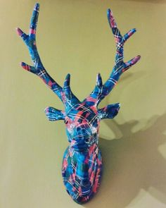 Tartan Stag by Doh! A Deer