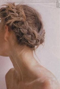 Coachella Hair: How To Do The Milkmaid Braid My Hairstyle, Messy Hairstyles, Pretty Hairstyles, Wedding Hairstyles, Hairstyle Tutorials, Wedding Updo, Good Hair Day, Great Hair, Coachella Hair